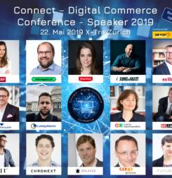 Erste Speaker der Connect – Digital Commerce Conference 2019 jetzt bekannt