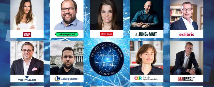 Speaker der Connect – Digital Commerce Conference 2019 – 22. Mai 2019 X-Tra Zürich – Stand: Januar 2019