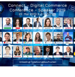 Connect – Digital Commerce Conference 2019: Programmschwerpunkte und hochkarätige SpeakerInnen