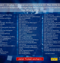 Über 100 C-Level und Entscheider an der Connect – Digital Commerce Conference #dcomzh