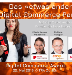 Das «etwas andere Digital Commerce Panel» als Überraschung der diesjährigen Awards