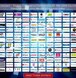 In einer Woche heisst es: Connect! Wer schnappt sich die letzten 35 Tickets? #dcomzh