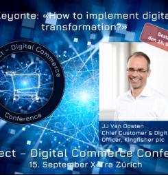 Wie gelingt digitale Transformation? – Eröffnungs-Keynote von JJ Van Oosten #dcomzh