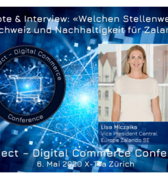 Frauenpower an der #dcomzh – Keynote und Interview mit Zalando Schweiz Chefin Lisa Miczaika