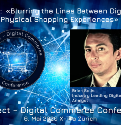 Brian Solis als international bekannter Keynote-Speaker an der Connect – Digital Commerce Conference #dcomzh