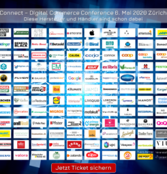 Nur noch bis morgen: Early-Bird Tickets für die Connect – Digital Commerce Conference #dcomzh