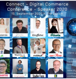 Fünf triftige Gründe für die #dcomzh – Connect Digital Commerce Conference, Award und Night